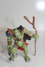 HTF Papo Fantasy Figure Green Monster Figure with weapons