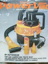 12v Canister Power Vacuuminflator By Patterson