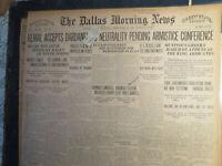 Arkansas History Newspaper 1922 EUREKA SPRINGS CITIZENS SLAY 3 BANDITS BANK ROB.