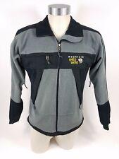 Mountain Hardwear Grey And Black Gore Windstopper Fleece Full Zip Jacket Mens S