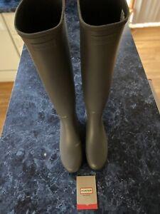 Hunter Women's Refined Creeper Tall Boots WFT2045RMA UK 5/US 7