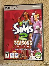 2007 The Sims 2 Seasons Expansion Pack-Apple Mac DVD Computer Game