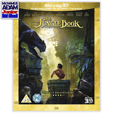 THE JUNGLE BOOK (LIVE-ACTION) Blu-ray 3D + 2D (REGION-FREE)