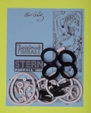 2004 Stern Elvis / Elvis Gold pinball rubber ring kit