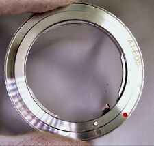 Nikon F (Ai Ai-s) lens mount adapter for Canon EOS EF-S cameras 60D 5D Mark 3 7D