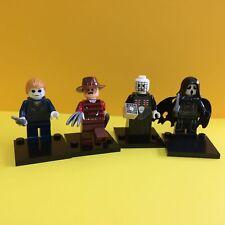4X Freddy Ghostface Pinhead Hellraiser Michael Myers  Mini Figure