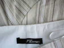 Linen Machine Washable Striped Regular Size Skirts for Women