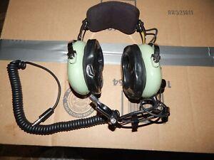 David Clark H10-76 Aviation Communication Headset    12510G-21