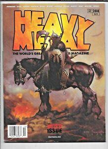 Heavy Metal #288 A The Weird Issue 2017 Frazetta Bisley Momoko FN+ 1977 Series