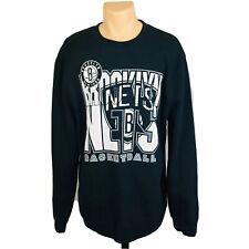 Mitchell & Ness Crewneck Brooklyn Nets Basketball Sweatshirt (Men's Size 2XL)