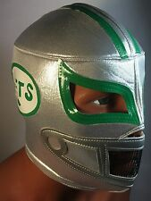 NEW YORK JETS WRESTLING-LUCHADOR MASK! Support Your Team!GREAT FOR  FANS! UNIQUE