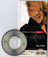"KIM WILDE  It's Here /Virtual World JAPAN 3"" CD WMD5-4024 Unsnapped Free S&H/P&P"