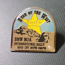 Bmw pin Rapid City 1990 Moa rally dakota del sur Star of the West 25x25mm