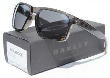 OAKLEY Holbrook Sunglasses Grey Smoke/Black Iridium NEW OO9102-24