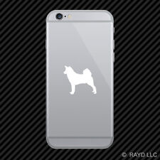 (2x) Canaan Cell Phone Sticker Mobile dog canine pet many colors