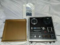 AKAI 1721W Four Track Stereophonic Reel to Reel Player with Original Cover