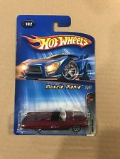 Hot Wheels #102 Muscle Mania 1963 T-Bird Convertible Red