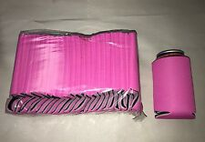 Pink Huggie Can Cooler Koozie Blank Lot 25 Summer Wedding  Sublimation