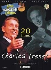 Partition+CD chant guitare - Charles Trenet - 20 titres