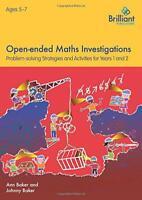 Abierta Matemáticas Investigations para 5-7 Año Olds por Baker , Johnny, , Ann