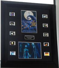 """""""THE NIGHTMARE BEFORE CHRISTMAS"""" TIM BURTON FRAMED FILM CELL MOUNTED"""