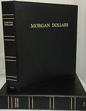 CAPS Album Morgan Silver Dollar Date Set 1878-1921 for Air-Tite Capsules 2149