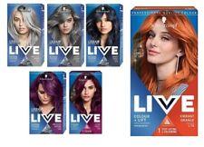 Schwarzkopf LIVE Colour Lift Permanent Hair Color Cream Dye Silver Violet Orange