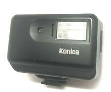[NEAR MINT] Konica HX-14 Black Auto Shoe Mount Flash for Hexar From JAPAN #460