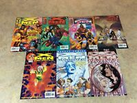 X-MEN UNLIMITED #27,28,29,30,31,32,33  LOT OF 7 COMIC NM 2000-2001 MARVEL