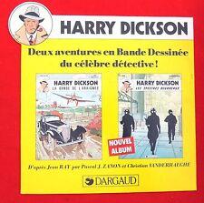 PLV. Harry Dickson. Les Spectres Bourreaux. Jean RAY et ZANON. Dargaud. 30 x 33