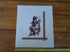 Discounted Hand Painted Needle Point Canvas Southwest- Kachina Theme