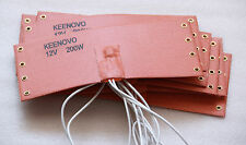 12V 200W KEENOVO Silicone Heater Pad,WVO Fuel Filter Heater,w/ thermostat 65C