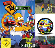 The SIMPSONS: Hit & Run PC versione tedesca salvi Springfield culto