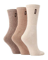 3 Pairs Ladies Luxury Jeep Jean Socks Size 4-7 Uk, 37-40 Eur, 4 Colours JL004
