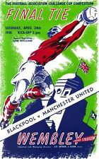 * 1948 FA CUP FINAL PROGRAMME - BLACKPOOL v MAN UTD *