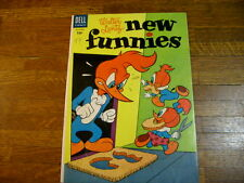 New Funnies #213, 1954, Woody Woodpecker & Andy Panda, chilly willy