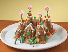 Nordicware CASTLE BUNDT Cake Pan 10 x 10 HEAVY Cast Aluminum 10 Cup KIDS PARTY