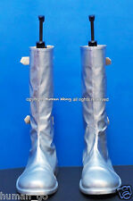 Silver Color Cosplay Boots Mens Size Us9/27cm