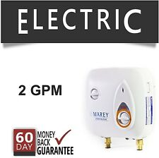 Refurbished Tankless Hot Water Heater Electric 3 GPM Marey On-Demand PowerPack