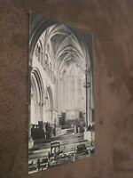 1911 fr Kent postcard - Church interior - Hythe
