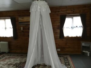 voille bed canopy