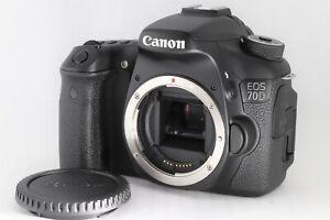 NEAR MINT Canon EOS 70D 20.2MP Digital SLR Camera Body Free Shipping JPN 062753P