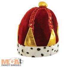 King/'S CROWN CORONA DELLA REGINA tutti i tipi Royal Travestimento