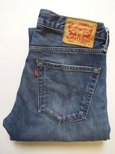 LEVI'S 527 JEANS MEN'S LOW BOOT CUT W32 L31 MID BLUE STRAUSS LEVJ646