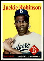 Jackie Robinson 2019 Topps Archives 5x7 #44 /49 Dodgers