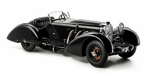 ✅ CMC M-225 1934 Mercedes-Benz SSK Black Prince 1:18 Scale Available Now