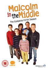 Malcolm in the Middle: The Complete Series 5 DVD (2013) Frankie Muniz cert 12 3