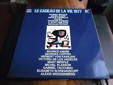33 TOURS / LP--LE CADEAU DE LA VIE 1977--BECAUD/DALIDA/PEYRAC/CLERC/CROISILLE