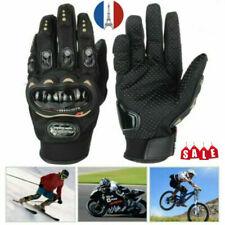 Gants Chauffants électriques Fibre de Carbone à batterie Moto Ski Cyclisme Hiver