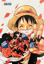 Japanese Anime ONE PIECE Poster #B8 Luffy Zoro Nami Usopp Sanji Chopper